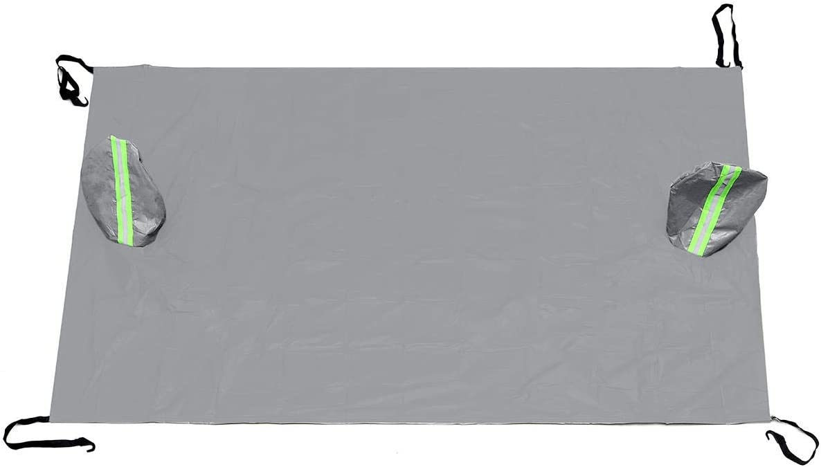 Max 77% OFF Hitommy 238x128cm Car Windshield Cover trend rank Strip Sun with Reflective