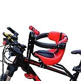 None brand Sillines de Bicicleta para Niños, bis 50KG, Bici de Montaña Asiento Delantero de la Sillín, Desmontable, para Montar del Asiento de Seguridad Eléctrico de la Bicicleta