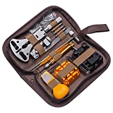 Ardentity Uhrenwerkzeug Set 149tlg Professionelles Reparaturset, Stiftausdrücker Schraubendreher Armband Batteriewechsel Uhr Werkzeug Set für eine Vielzahl von Uhrenreparaturen