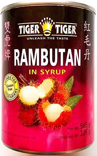 Tiger Tiger Rambutan sciroppate - 3 x 565gm