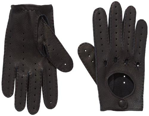 Roeckl Unisex Classic Driver Deer Handschuhe, Schwarz (Black 000), 9