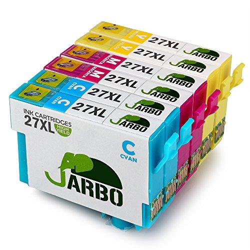 JARBO 27 XL Sostituzione per Cartucce Epson 27XL (2 Ciano,2 Magenta,2 Giallo) Alta Capacità Compatibili per Epson WorkForce WF-7610 WF-7620 WF-3620 WF-3640 WF-7110 WF-7710 WF-7715 WF-7720 WF-7210