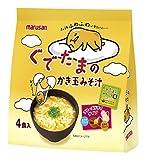 マルサンアイ ぐでたまのかき玉みそ汁(4食入り) 4食×4袋