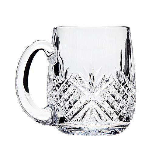 Godinger Dublin Beer Glass Mug - Set of 2