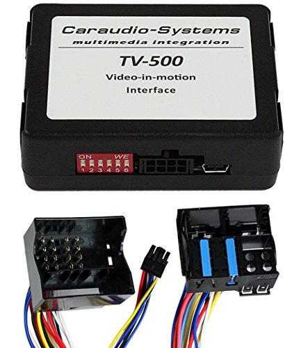 CarAudio de Systems TF de NTG2–Vídeo Libre Cambio Apto para Mercedes Comand APS NTG2–, NTG2.5, NTG4, NTG4.5Plug y Play Negro/Plata