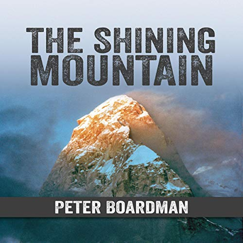The Shining Mountain audiobook cover art