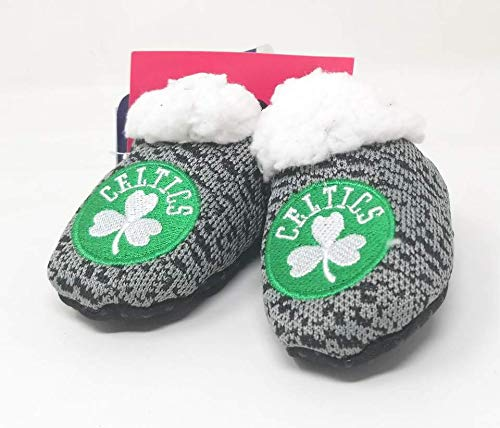 Forever Collectibles FOCO NBA Infant Knit Baby Bootie Shoe (Boston Celtics, S (0-3M))