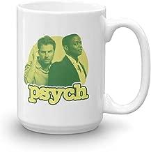 Psych Gus and Shawn White Mug - 15 oz. - Official Coffee Mug