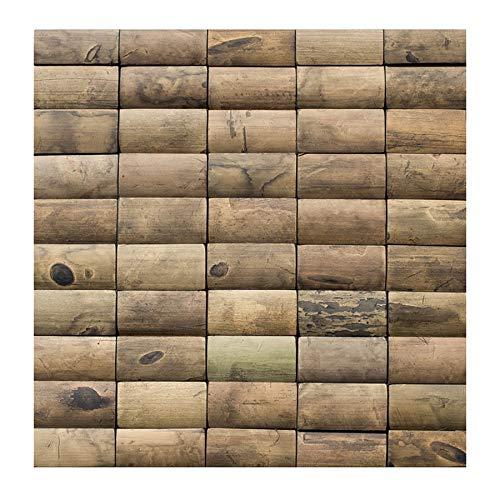 Wand-Design - BM-002 - Bambus Mosaikfliesen Verblender Holzwand Bamboo-Mosaic Bamboo-Design - Fliesen Lager Verkauf Stein-mosaik Herne NRW
