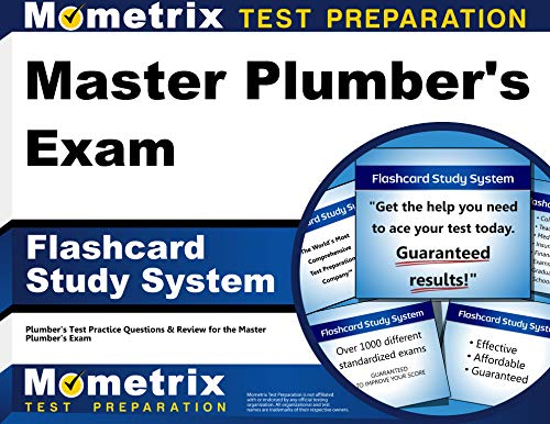 Master Plumbers Exam Flashcard Study System Plumbers Test Practice Questions Review For The Master Plumbers