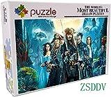 Lv5Panel Puzzles-Juego De Rompecabezas De Madera De 1000 Piezas Para Adultos Niños Puzzle Juguetes...