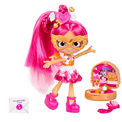 Shopkins Lil Secrets Shoppie - Collectable Doll Plus Wearable Locket - Lippy Lulu