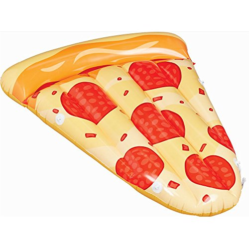 Summer Waves Pepperoni Pizza Pool Lounge Inflatable