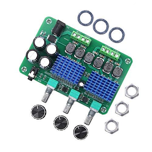 DollaTek tpa3116d2 tablero amplificador de potencia digital de alta potencia altavoz casero de 2.1 canales