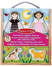 Melissa & Doug- Classic Toys - Magnetic Dress-Up Sets (Melissa and Doug 19314) , color/modelo surtido