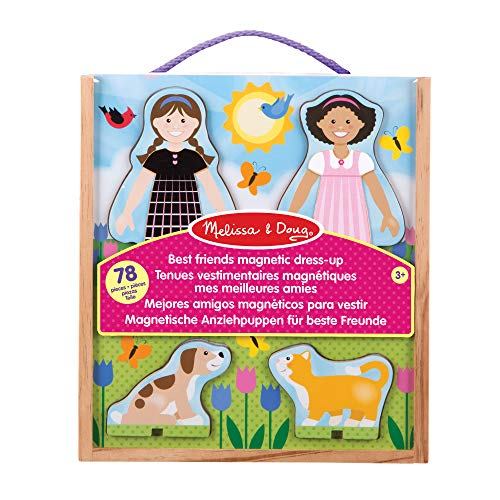Melissa & Doug 19314 Classic Toys - Magnetic Dress-Up Sets