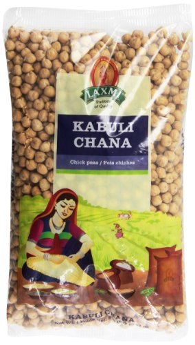 Laxmi Kabuli Chana White Chickpeas - Whole Chana, 2 Pounds