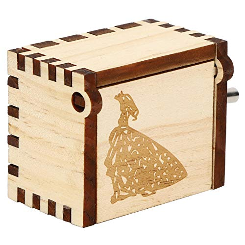 Caja de música de Feliz cumpleaños Pretty Child Toy(Number 1, Blue)