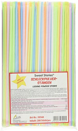 Sweet Stories Schleckpulverstangen, 600 g