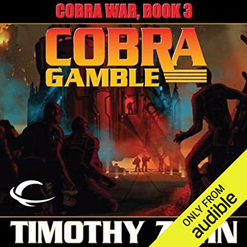 Cobra Gamble audiobook cover art