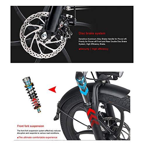 LCLLXB Bicicleta de Montaña Speed Gears Bicicleta Plegable Outroad para Hombres y Mujeres Adultos Bicicleta para Adultos Speed Cross Country Bicycle