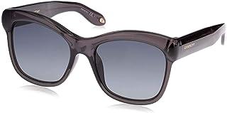 نظارة شمسية مربعة الشكل للنساء من جيفنشي - عدسات بلون رمادي