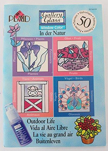 Buch Window Color • In der Natur • NEU • 50 Malvorlagen