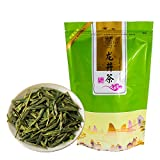 FullChea - Longjing Tea - Dragonwell Tea - Chinese Green Tea Loose Leaf - Toasty Bean Aromatic - Lung Ching Dragon Well (8.8oz / 250g)
