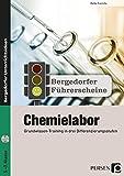 Führerschein: Chemielabor - Sekundarstufe: Grundwissen-Training in drei Differenzierungsstufen (5. bis 7. Klasse) (Bergedorfer Führerscheine Sekundarstufe)