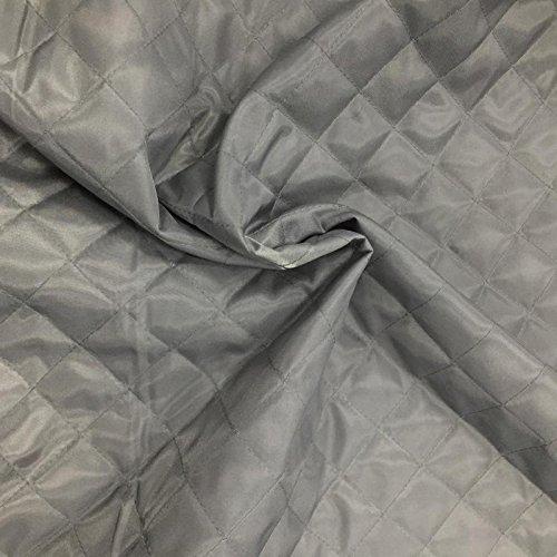 Tela acolchada. 12colores. Para ropa de cama para exteriores, tapicería, prendas de ropa, resistente al agua. Se vende por metros. 150 cm de ancho.