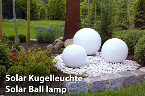 LED Leuchtkugel Solar 20/25 cm / 30 cm von Kynast Garden 3er Set