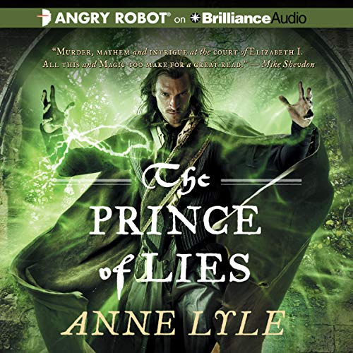 Prince of Lies, The cover art