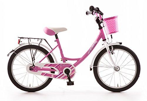 Bachtenkirch Kinderfahrrad 18 Zoll My Bonnie pink Seitenständer Korb vorn