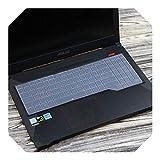 Funda protectora para teclado Asus TUF Gaming FX505 fx505ge FX505DV FX505G FX 505 GD DT GM FX505GM FX505GD fx505DT 15.6' Talla única transparente