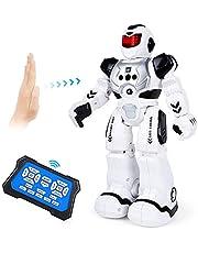 Auney Giocattoli Robot per Bambini, RC Robot Intelligente Interattivo Programmabile Control Giocattolo per Bambini