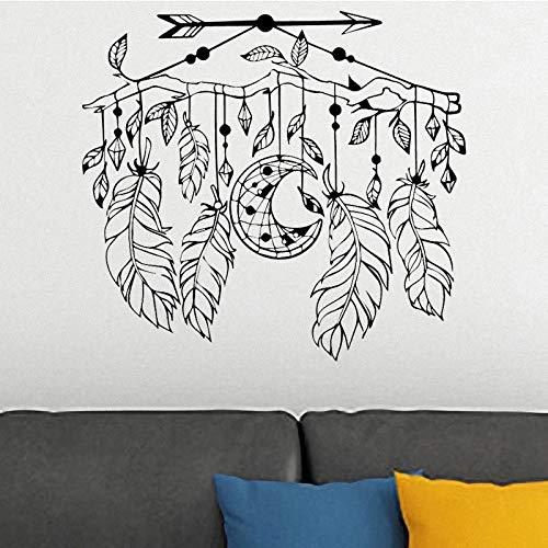 Woonkamer slaapkamer kinderen decoraties wooncultuur muurkunst Hot Wind Chime patroon Catcher muursticker