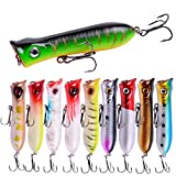 Aorace 10Pcs/Lot 8.5cm 11g Artificial Fishing...
