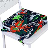 Booster Seat for Dining Table, Toddler Portable Increasing Cushion - Dinosaur