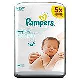 Pampers Sensitive Feuchttücher, 280 Ttücher,...