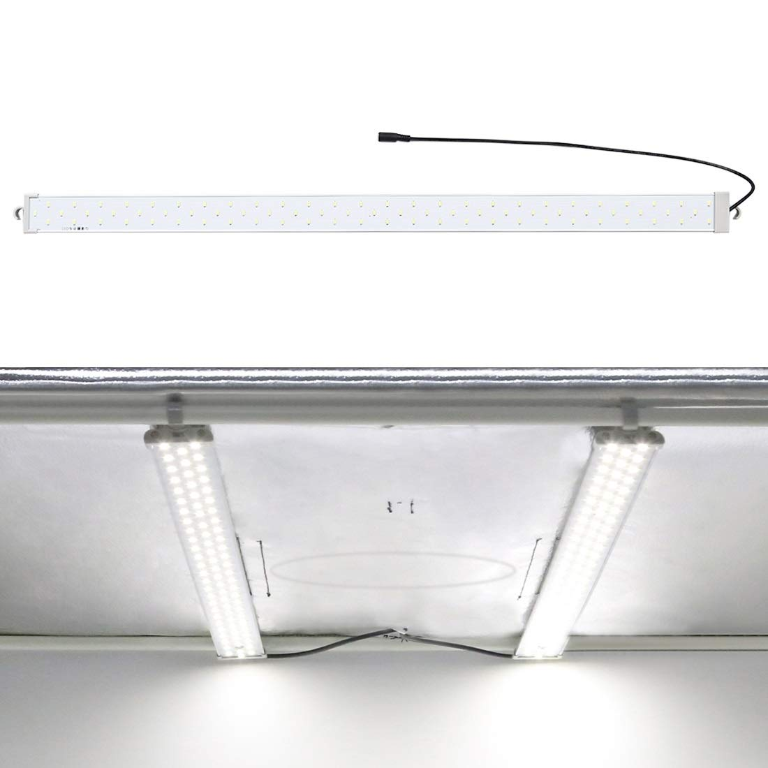 MOBILEACCESSORIES for TL 40W 4250LM 78 LEDs SMD 5730 5500K Aluminum Base Light Panel for 80cm Studio Tent Photography Lights