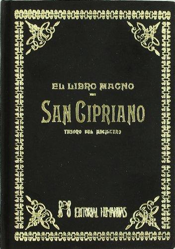 Libro Magno De San Cipriano -Terciopelo