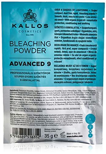 Kallos Kjmn Advanced 9 Profesjonalny Rozjaśniacz Do Włosów Saszetka, 35 g