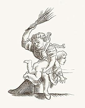 child spanking drawings