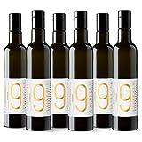 9 Oliveres Aceite de Oliva Virgen Extra. Olivos Milenarios. Variedad Premium, 500 ml. Cosecha 2019 - 2020. Variedades: 70% Alfafarenca 30% Blanqueta. Botella de vidrio (6 x 500 ml)