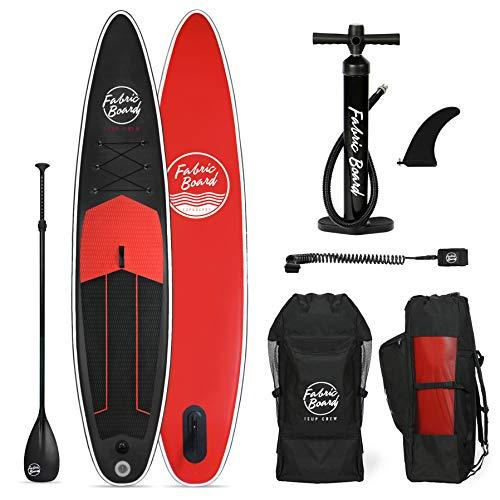 FabricBoard 12'6', Tabla de Paddle Surf Hinchable 384x77x15cm, Tecnología...