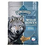 BLUE Wilderness Wild Bones Grain Free Dental Chews, 10 oz., Small Bones for Dogs