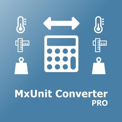 Einheiten Umrechner MxUnit Pro