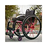 ZGQP Sillas de Ruedas Deportivas Sillas de Ruedas manuales for discapacitados Sillas de...