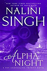 Alpha Night by Nalini Singh book cover