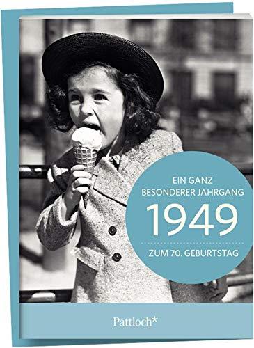 1949 - Ein ganz besonderer Jahrgang - Zum 70. Geburtstag: Jahrgangs-Heftchen mit Kuvert